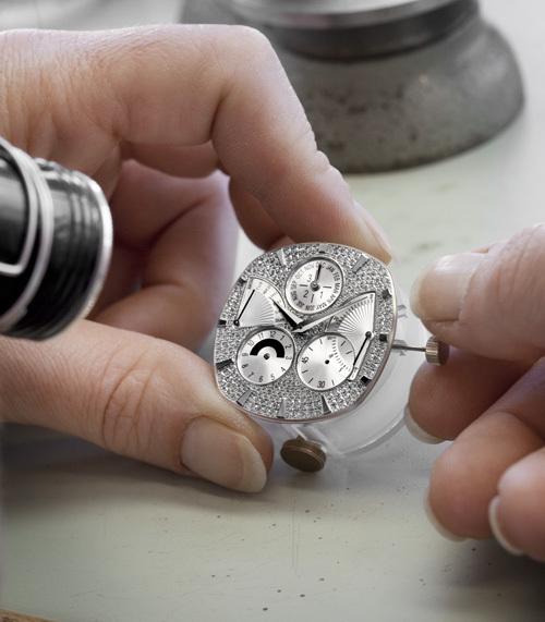 Piaget : la millionième montre est une Emperador Coussin Quantième Perpétuel sertie de diamants