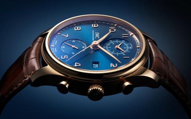 IWC Portugaise Chronographe Classique Bucherer Blue Editions