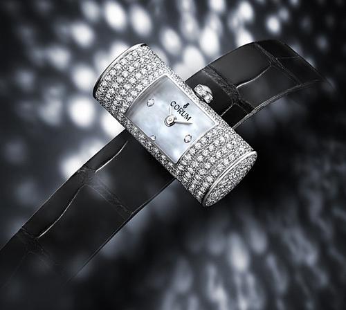 Corum : trois montres pour dames d'inspiration « vintage »