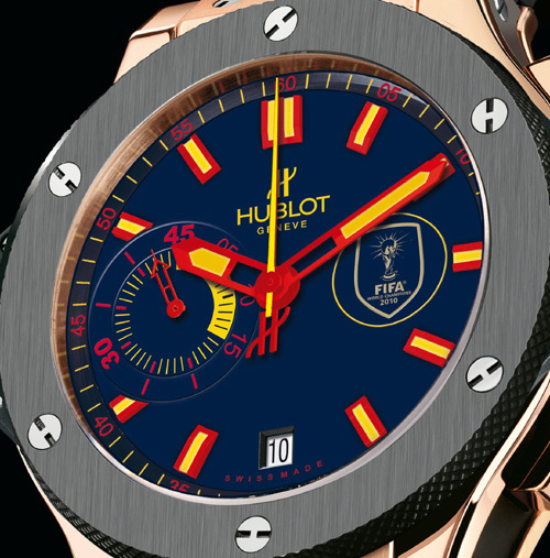 Hublot World Cup Winner's watch : la montre officielle des Champions du monde de football