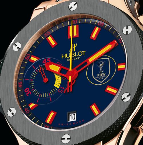 Hublot World Cup Winner's watch : la montre officielle des Champions du monde de football