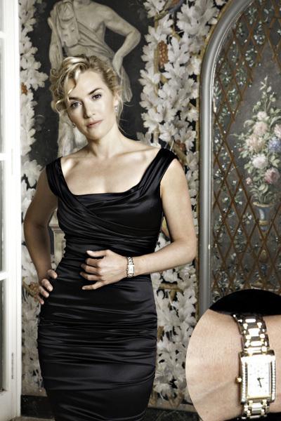 Longines : Kate Winslet, ambassadrice de charme et d'élégance présente la collection DolceVita