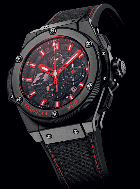 Hublot : une King Power racée au nom mythique de Monza…