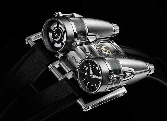 Horological Machine N° 4 Thunderbolt : la nouvelle création de Maximilian Busser and friends…