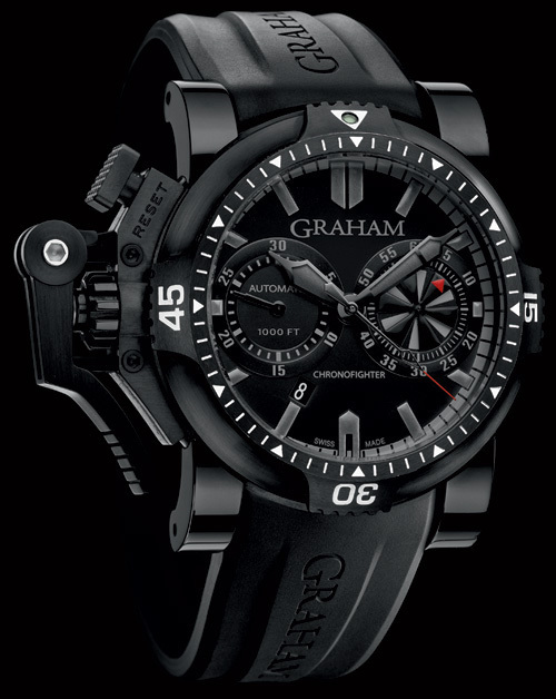 Graham Chronofighter Oversize Diver : twilight zone