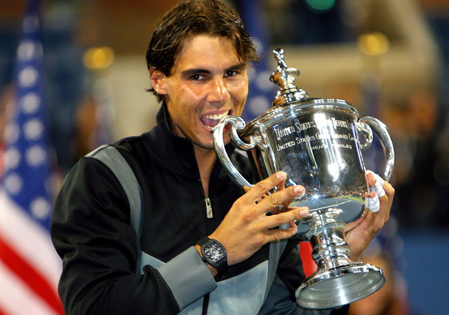 Rafael Nadal à l'US Open, crédit photo Ella Ling for Richard Mille
