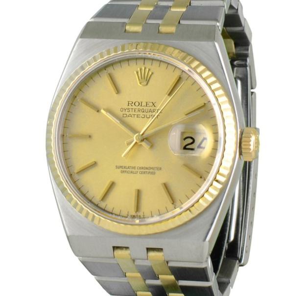 les clients d'abord couleur rapide taille 40 Rolex Oysterquartz : la plus cool des montres à quartz ...