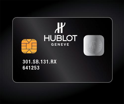 Hublot et WISeKey : une SmartCard pour lutter contre la contrefaçon