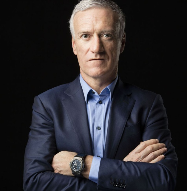 Didier Deschamps et sa Hublot