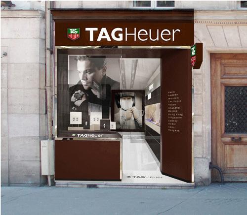 TAG Heuer : ouverture d'une boutique exclusive à Paris