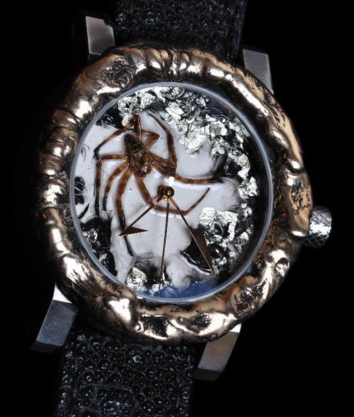 Artya Halloween Special : une véritable araignée à votre poignet…