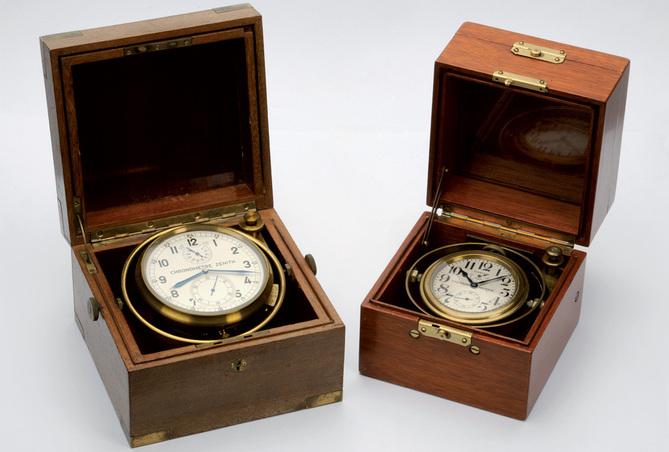 Zenith Christophe Colomb ou la première montre dont la marche s'affranchit des mouvements de son porteur…