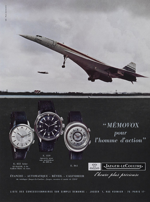 Jaeger-LeCoultre expose une collection privée de 40 Memovox chez Artcurial du 24 au 28 novembre 2010