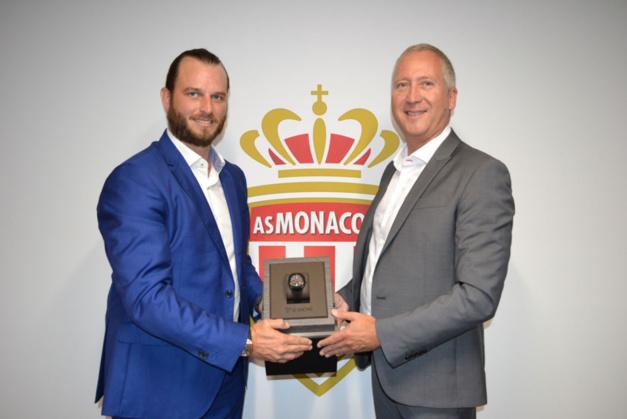 Le Rhöne : horloger officiel de l'AS Monaco