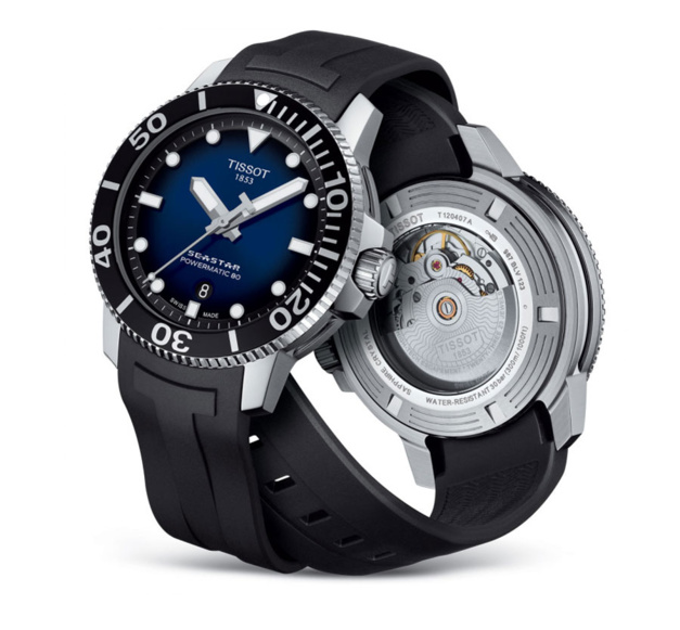 La Tissot Seastar 1000 Powermatic 80 vue par Longting Wang de chez Bucherer