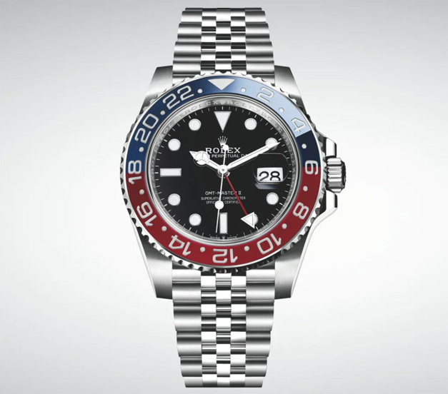 "Rolex GMT Master II Pepsi Jubilé : l'inaccessible ""couronne"""