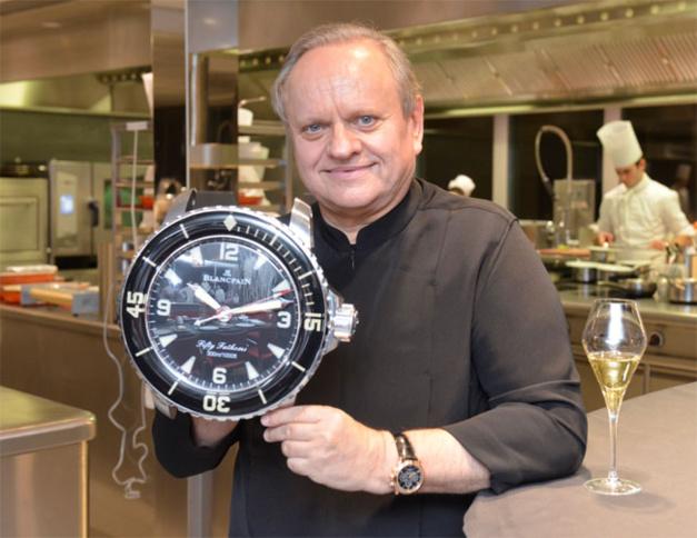 Joel Robuchon : un chef en Blancpain