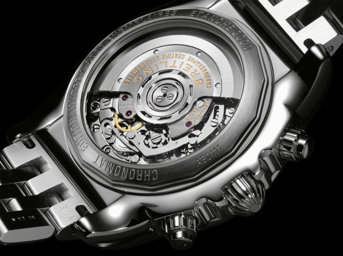 """Breitling Chronomat 01 : une série limitée avec calibre """"maison"""" et fond saphir"""