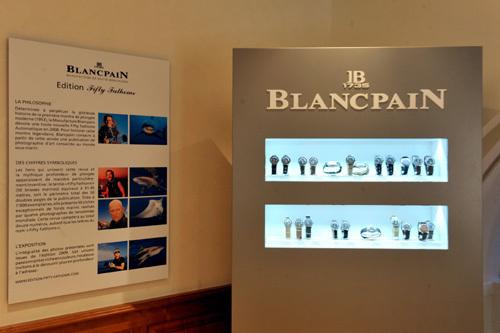 Fifty Fathoms Blancpain : une exposition historique unique Place Vendôme