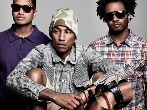 Pharrel Williams et son groupe N.E.R.D., DR