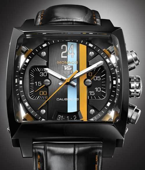 Monaco Twenty Four Calibre 36 Chronograph : de la commercialisation d'un concept-watch