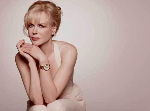 Dans les coulisses de la campagne Omega Ladymatic avec Nicole Kidman et Peter Lindbergh
