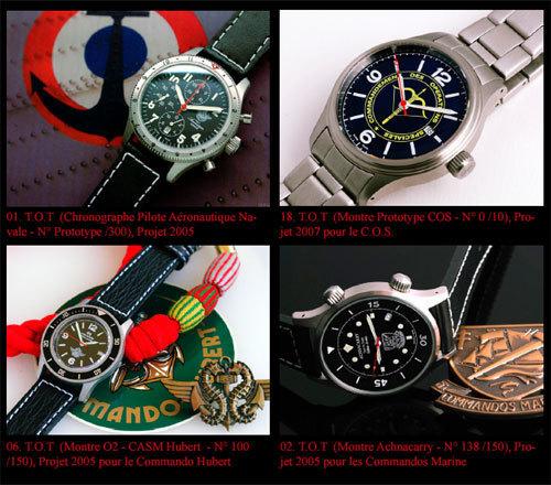 27 novembre 2010 : vente de montres militaires TOT par Gros & Delettrez