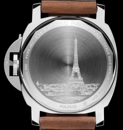 Officine Panerai : deux séries spéciales pour la boutique Panerai à Paris