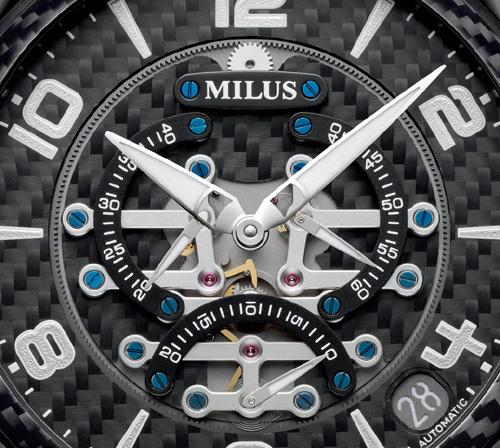 Milus Tirion TriRetrograde Seconds DLC : sportive, masculine et futuriste
