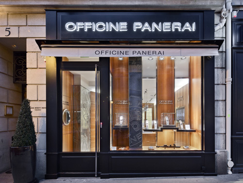 Officine Panerai ouvre une boutique exclusive à Paris
