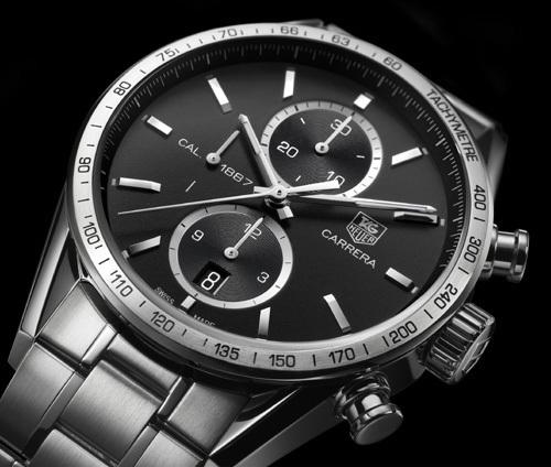 TAG Heuer Chronographe Carrera 1887 : prix de la « Petite Aiguille » à l'occasion du GPHG 2010