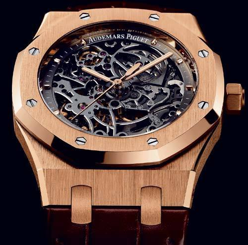Royal Oak Automatique squelette Audemars Piguet : en toute transparence…