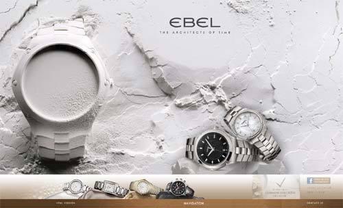 Ebel : un nouveau site Internet pour les Architectes du temps…