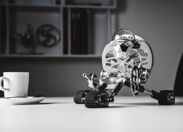 Robot-pendule Grant : la nouvelle collab' MB&F par l'Epée 1839
