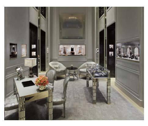 Dior Joaillerie dévoile son nouveau décor place Vendôme à Paris
