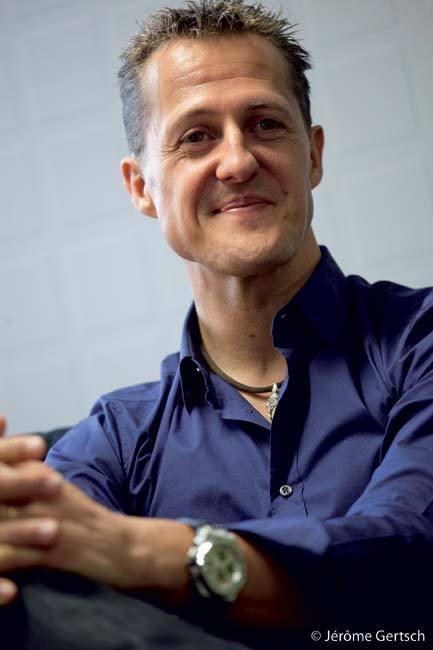 Michael Schumacher devient la nouvelle icone Audemars Piguet