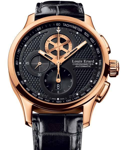 Louis Erard chronographe 1931 : la vie en or rose
