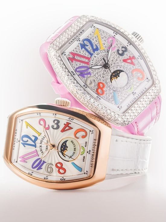 Franck Muller Vanguard Lady Moonphase : décalée mais si chic