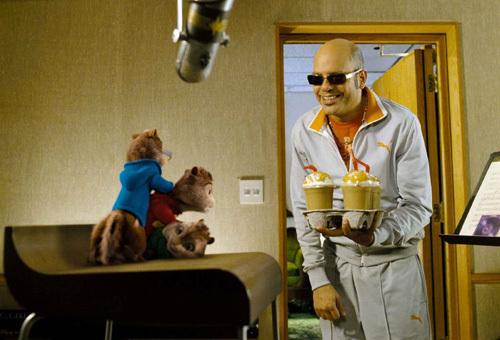 Alvin et les Chipmunks, DR