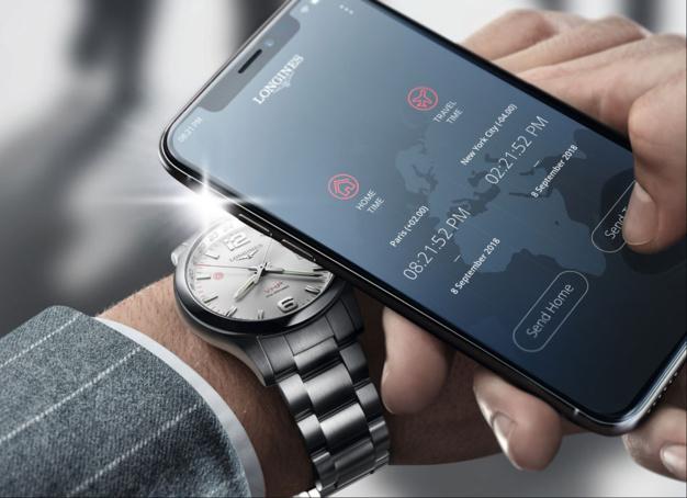 Longines Conquest V.P.H. GMT Flash Setting : montre de voyage intelligente