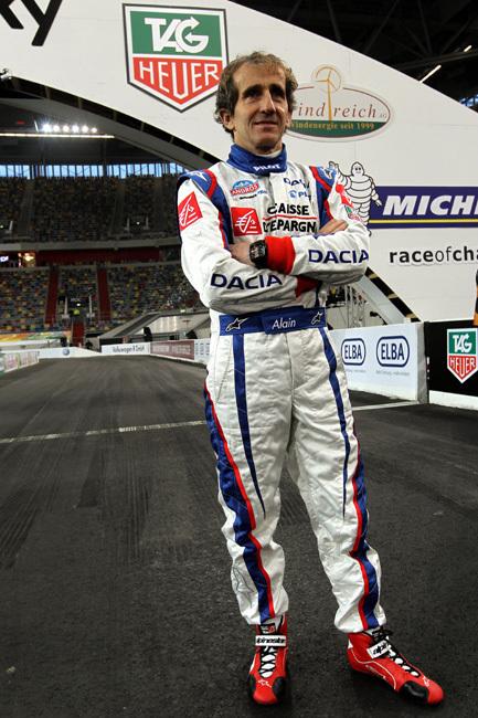 Alain Prost : ambassadeur TAG Heuer