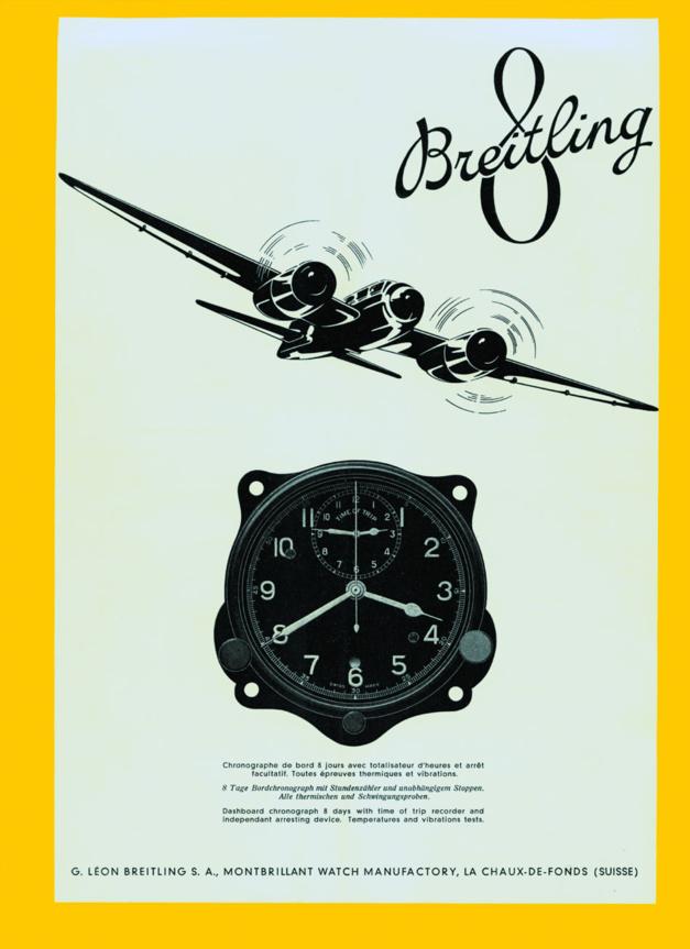 Breitling : à la découverte du département Huit aviation de la marque