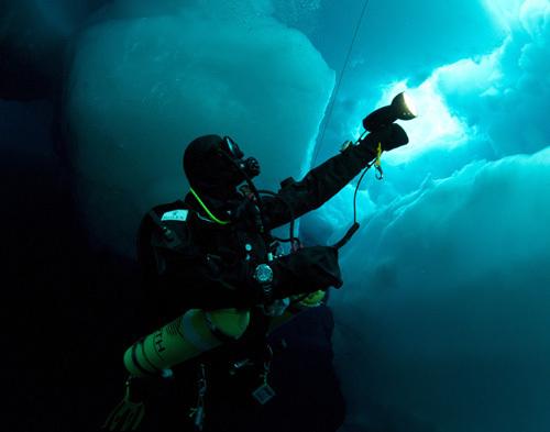 Copyright Benoit Poyelle Deepsea Under The Pole by Rolex