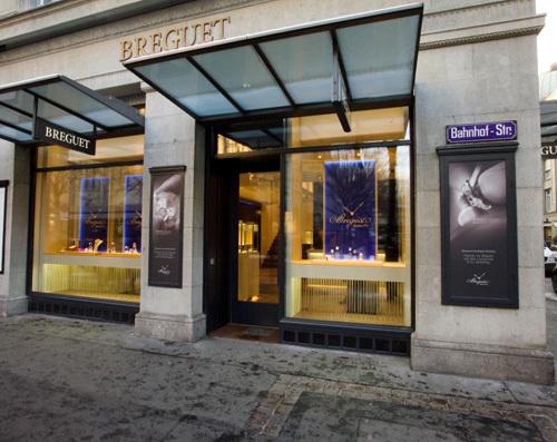 Breguet ouvre une boutique exclusive à Zurich sur la célèbre Bahnhofstrasse