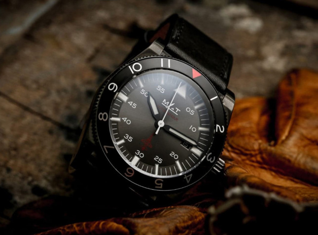 T38 : la montre d'aviateur selon MATWatches