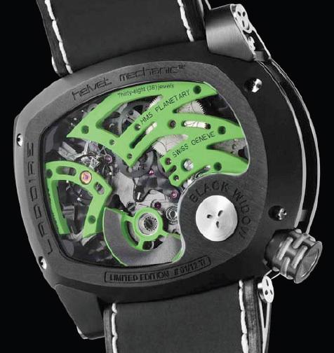 Ladoire Black Widow Mr. Green : la dangereuse Latrodaectus Mactans comme inspiratrice
