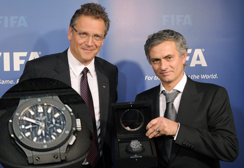 FIFA Ballon d'Or 2010 : une montre Hublot Big Bang offerte aux gagnants