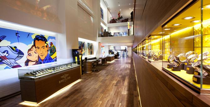 Breitling ouvre un « flagship » en plein cœur de New York