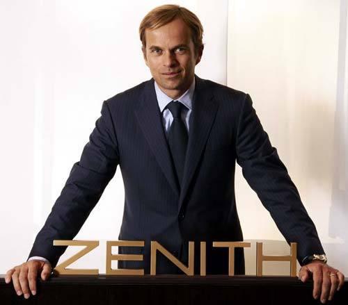 Industrie horlogère : Jean-Frédéric Dufour, patron de Zenith, nommé « Homme de l'année 2011 »