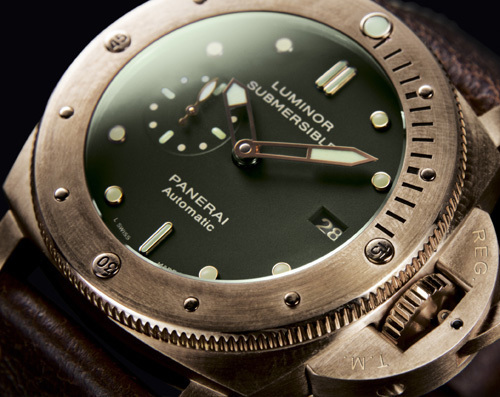 Officine Panerai : Luminor Submersible 1950 3 Days Automatic Bronzo 47 mm : bomba latina !